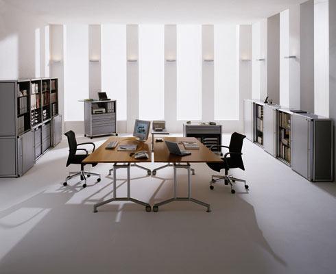 weko schreibtisch mit kufengestell. Black Bedroom Furniture Sets. Home Design Ideas